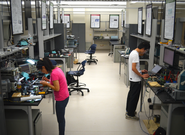 Power Electronics Lab Picture